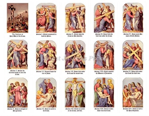 Way of the Cross Stickers