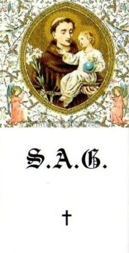 St. Anthony Guide Stickers