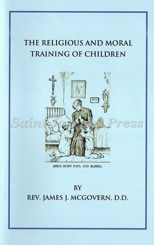 Religious and Moral Training of Children Booklet