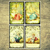 Christmas O Antiphons Holy Card Set