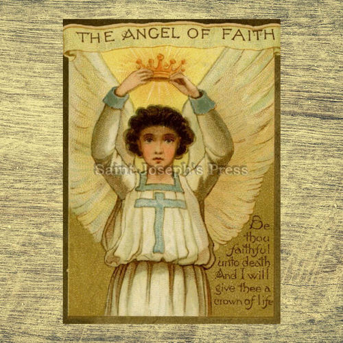 "Angel of Faith 5"" x 7"" Print"