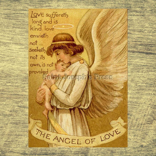 "Angel of Love 5"" x 7"" Print"