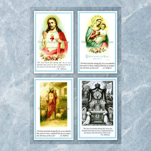 Funeral Holy Cards