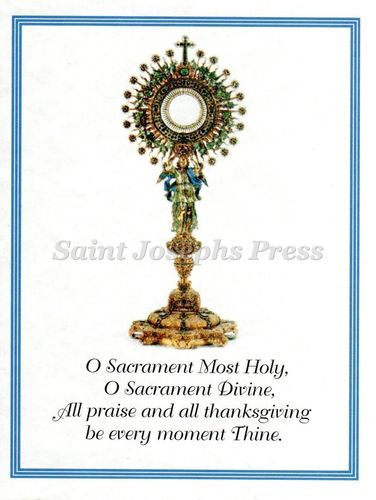 Adoration Spiritual Bouquet Card