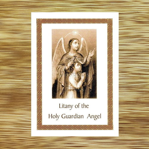 Guardian Angel Litany Card