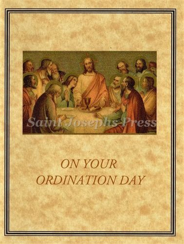 Ordination Congratulation Bouquet Card
