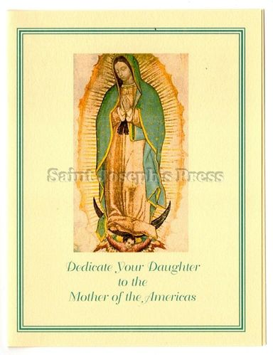 Dedicate Your Child to Mary Note Card