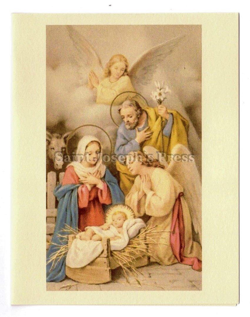 Nativity Christmas Cards Set - Saint Joseph\'s Press