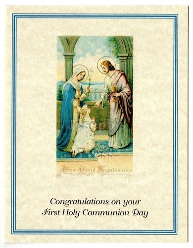 First Communion Congratulations Card #4