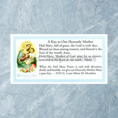The Hail Mary Prayer Stickers