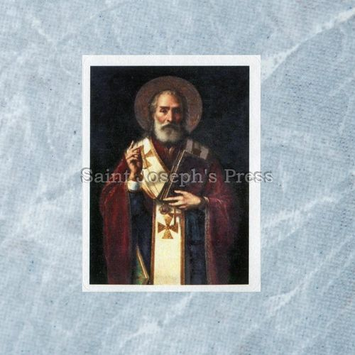 St. Nicholas Stickers - Set of 15