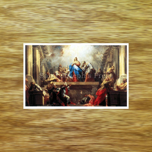 Act of Consecration to the Holy Ghost holy card