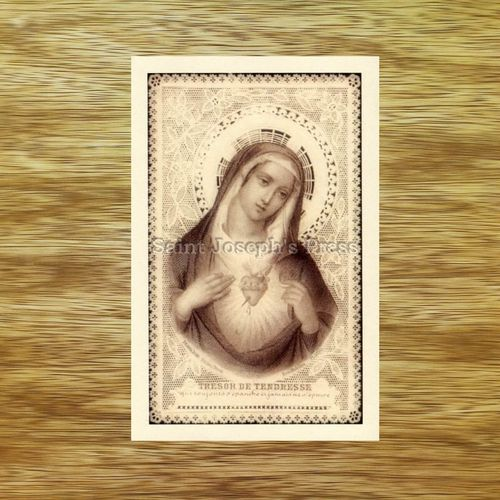 Treasure of Tenderness Holy Card